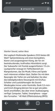 Lautsprechersystem mit Subwoofer