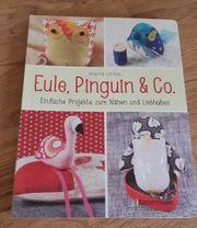 Eule Pinguin und Co Nähbuch