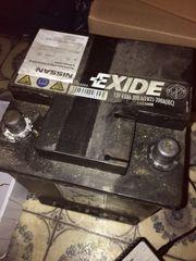 Gebrauchte Autobatterie Fiat 500 12V