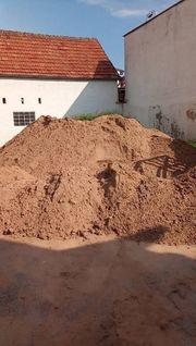 Sand ungewaschen