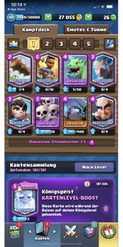 Apple Clash Royale Account Alle