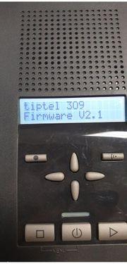 Anrufbeantworter Tiptel 309 D