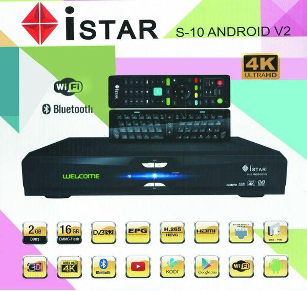 IStar-Korea-S10-Android-V2-Online-TV-Abo 1-Jahr 2-Jahre-Sat-Sahring-system