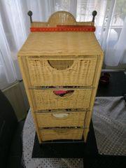 Schubladenschränkchen Telefontischchen Badregal