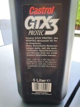 Sonstiges Zubehör - 2 5 Liter CASTROL GTX3