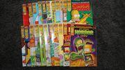 Simpsons Comic Sammlung 22 Stück