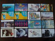 Konvolut 5 Telefonkarten zum Sammeln
