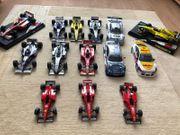 Formel 1 und DTM Modellautos