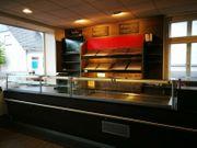 komplette Ladeneinrichtung Bäckerei Verkaufstheke mit