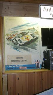 Carrera Universal Poster Antik