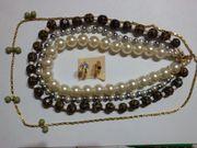 Halsketten Modeschmuck Set