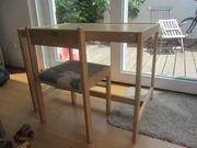 Geuther Holz Kindertisch Tisch Stuhl