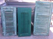Holzfensterläden