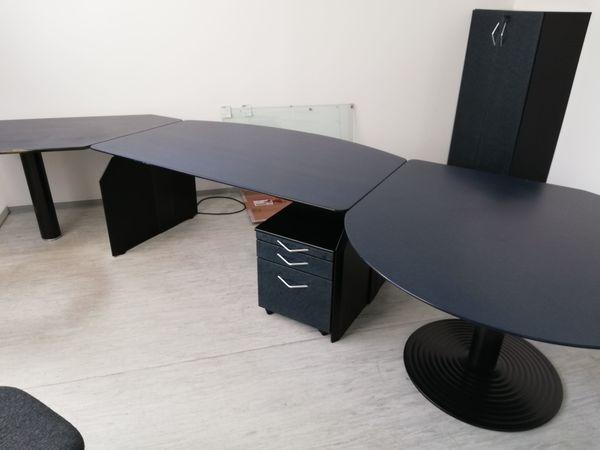 Vogelaugenahorn Büromöbel