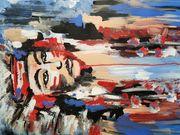 Acrylbild Apache