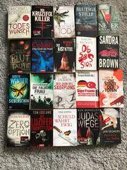 20 Thriller Romane