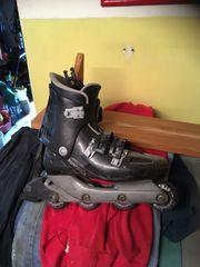 Inliner Skateboard 4 Reifentaschen