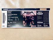 METALLICA Ticket München 23 08