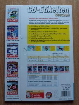 Büromaterial - DATA BECKER CD-Etiketten klassisch 67