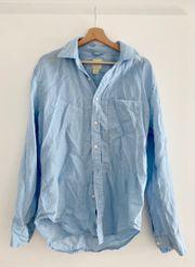 Gap boyfriend linen shirt new