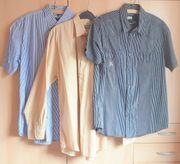 Drei Herren-Hemden Gr 41 42