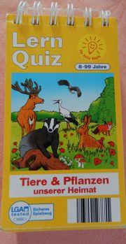 Lern Quiz - Tiere Pflanzen unserer