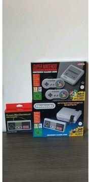 NEU Ungeöffnet NES SNES Mini