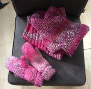 Damen Schal mit Fäustlingen