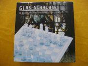 Glas Schachset Schachspiel unbespielt nwtg