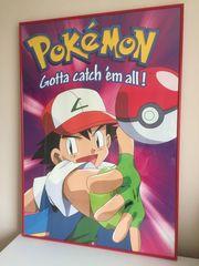 Pokemon Kunstdruck Poster in Museumsqualität