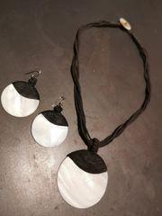 Halskette Ohrringe im Set