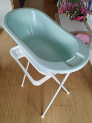 Baby Badewanne Wannenständer und Babysitz