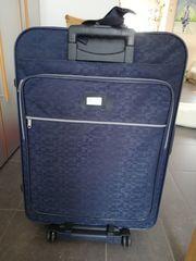 Koffer american tourister blau mit