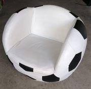 Fussball Sessel aus Leder - 360