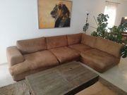 Ecksofa Couch Garnitur Big One