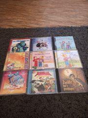 verschiedene Kinder CDs 9 stck