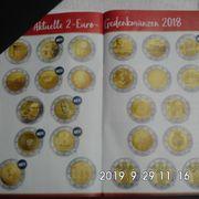 126 2 Euro Sondermünzen Stempelglanz