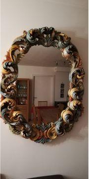 Spiegel Barockspiegel Antiquität Holzrahmen