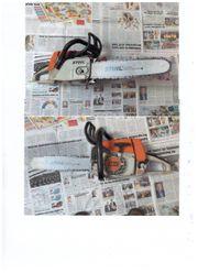 Kettensäage Stihl MS 240 gebraucht