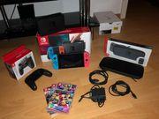 Switch Nintendo mit 3 Spielen