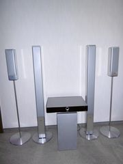 Audio Surround System und TV