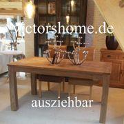 Ausziehbarer Esstisch Küchentisch Hartholz 180x90