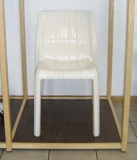 Gartenmöbel - Kartell Frilly Stuhl in weiß
