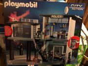 Playmobil Polizei Kommando Station NEU
