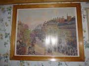 Wandbild Boulevard Montmartre 1897 von