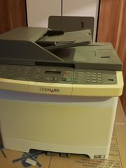 LEXMARK X544dw Homeoffice Multifunktion Farblaserdrucker