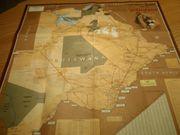 Straßenkarte Botswana