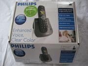 PHILIPS CD 645 Schnurlos Festnetztelefon