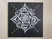 Acrylbild Mandala