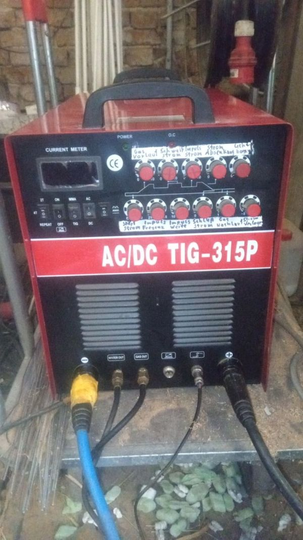 Stahlwerk Wig Schweißgerät AC DC